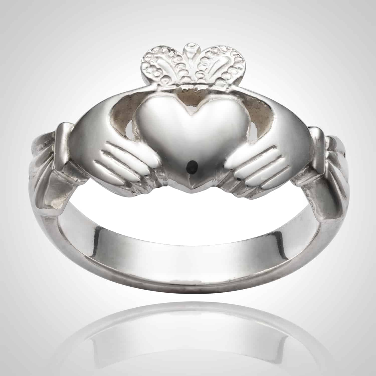 Traditional Claddagh ring (Heavy weight)